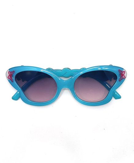 Kid-O-World Butterfly Sunglasses - Blue