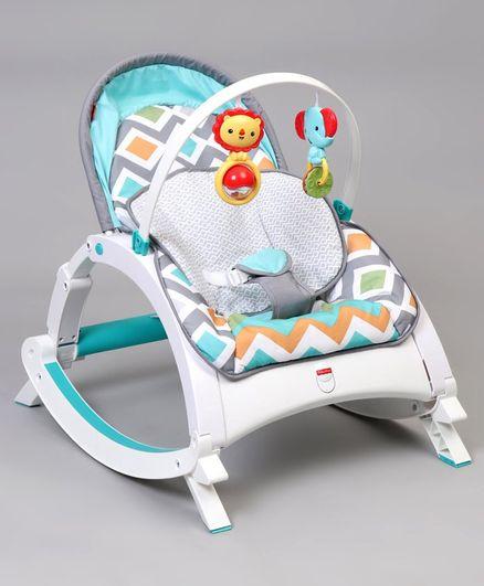 Fisher Price Infant To Toddler Rocker - Blue