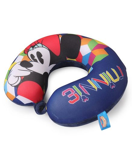 Minnie Mouse Neck Pillow - Multicolour