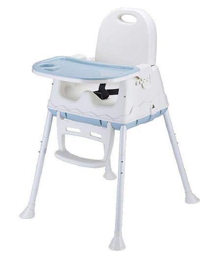 Syga Height Adjustable High Chair - Blue