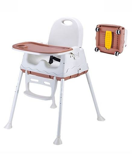 Syga 3 in 1 High Chair - Brown