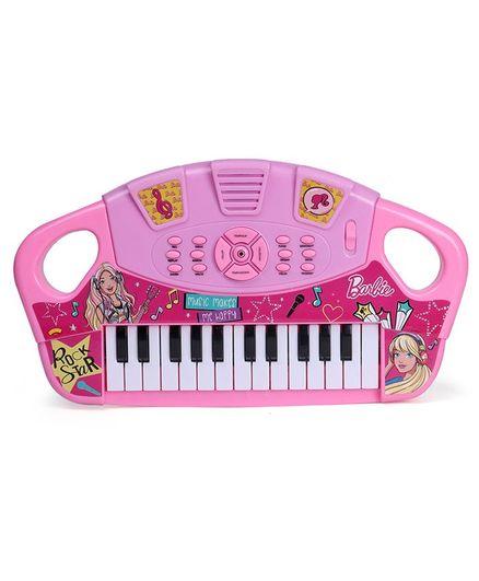 Barbie Electronic Keyboard - Pink