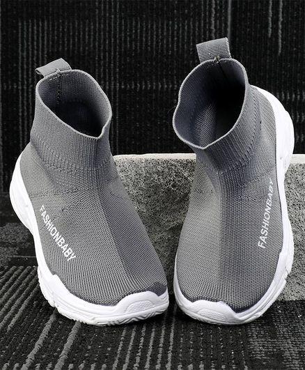 Kidlingss Ankle Slip On Shoes - Grey