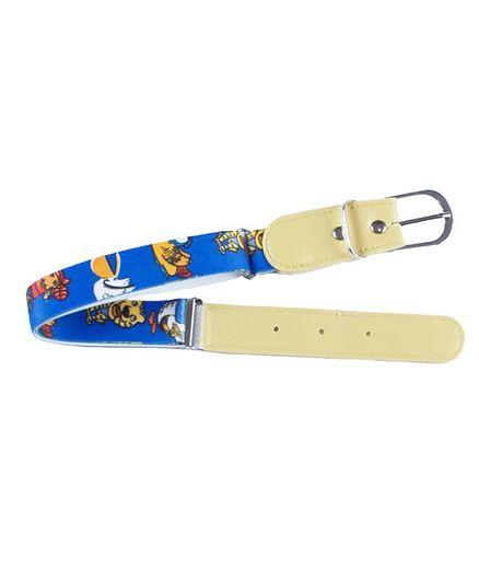Kidofash Duck Printed Belt - Blue