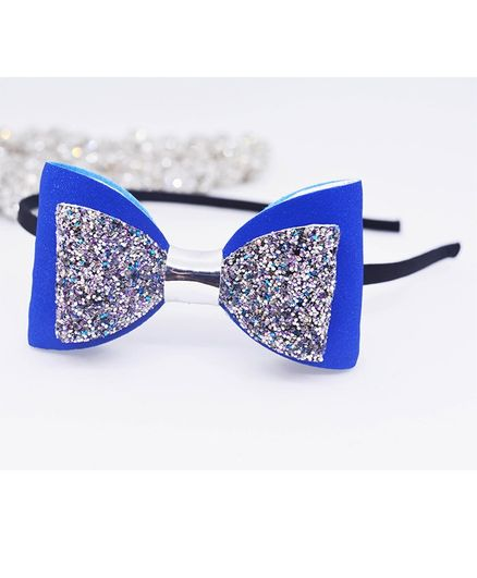 Little Tresses Bow Hair Band - Blue