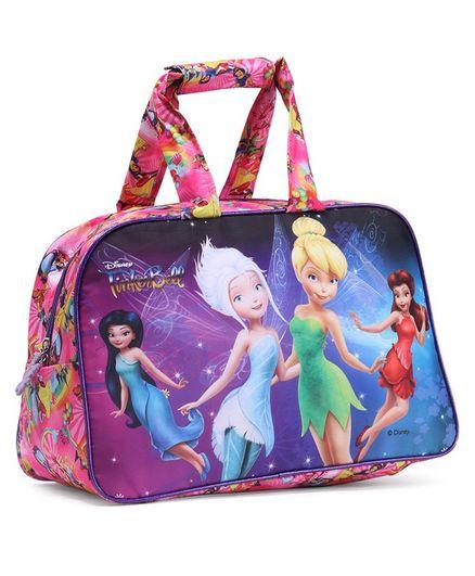 Disney Princess Fairies Tinker Bell Duffel Bag Multicolour - Height 12 Inches