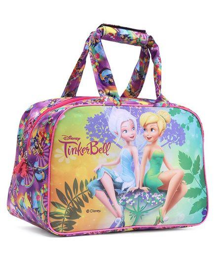 Disney Fairies Tinker Bell Duffel Bag Multicolour - Height 12 inches