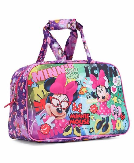 Disney Minnie Mouse Duffel Bag Multicolour - Height 12 inches