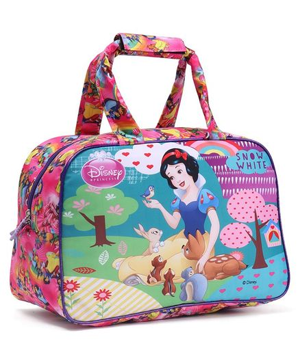 Disney Snow White Duffel Hand Bag Pink - Length 12 inches