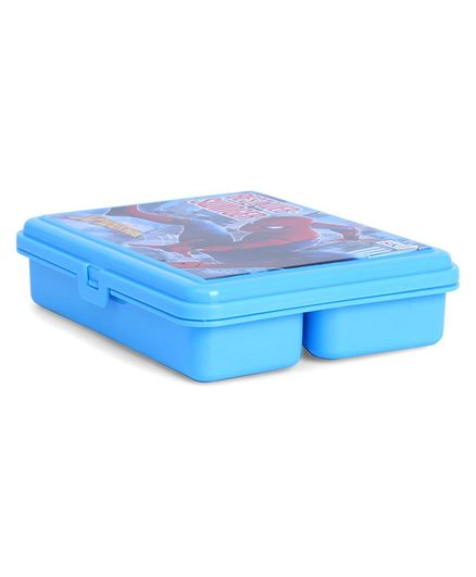 Marvel Spider Man Sweet Lunch Box - Blue