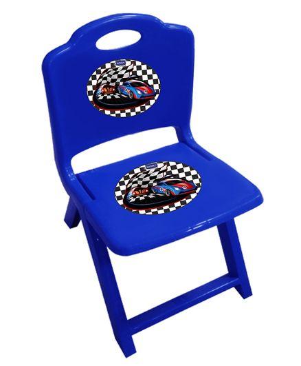 Kuchicoo Folding Plastic Chair - Blue