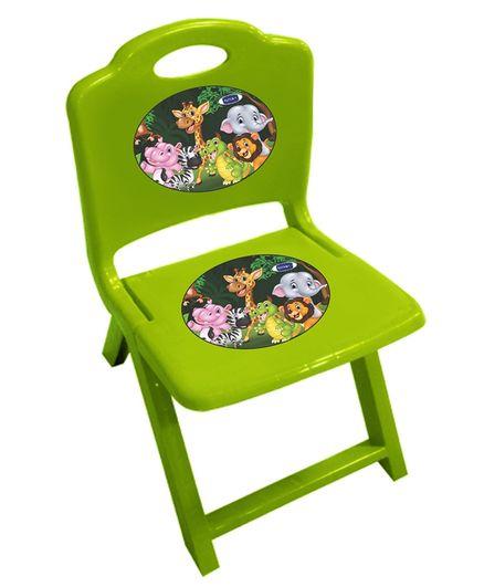 Kuchicoo Folding Plastic Chair - Green