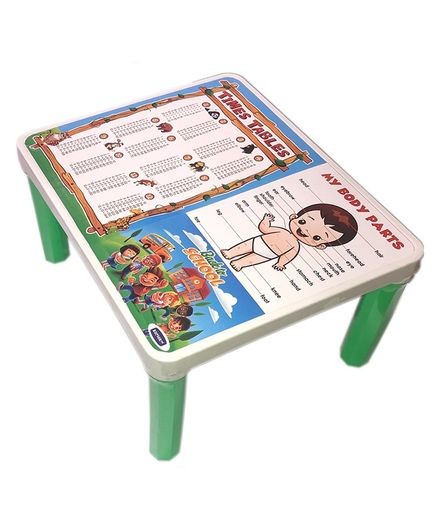 Kuchicoo Multi Learning Bed Table Back to School - Green