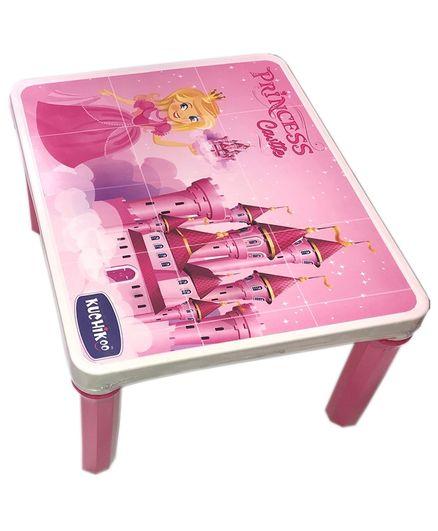 Kuchicoo Princess Bed Table - Pink