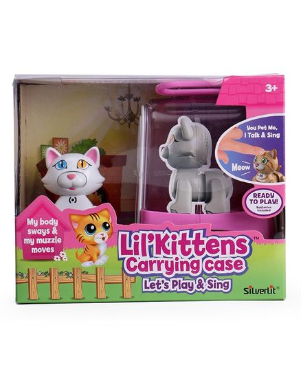 SilverLit LilKittens DigiKittens With Carrying Case (Styles May Vary)