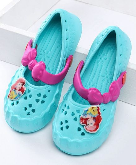 Barbie Clogs With Patch - Sea Green