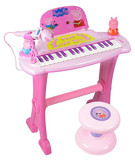 Playwell Peppa Pig Keyboard - Multicolour