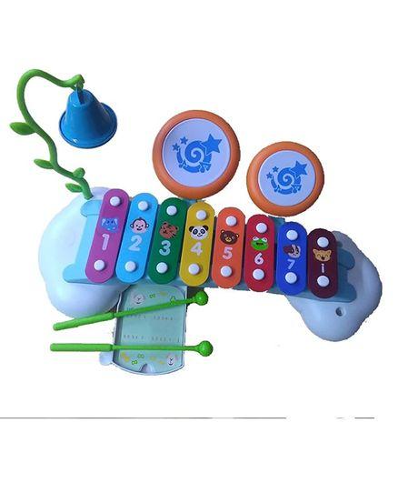 Playwell Rainbow Music Set Xylophone - Multicolour