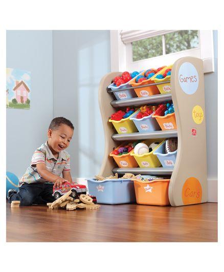 Step2 Fun Time Room Organiser - Multicolour