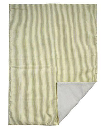 Abracadabra Diaper Changing Mat Single Striped - Green