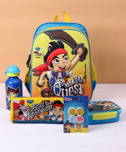 Disney Jake & The Neverland The Pirate School Kit - Blue Yellow