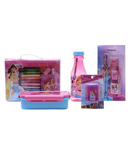 Disney Cinderella School Kit Pack of 5 - Pink