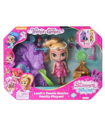 Fisher Price Leah's Teenie Genies Vanity Playset Multicolour - Height 15 cm