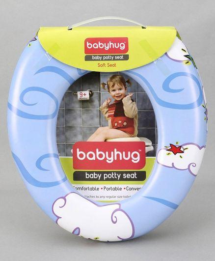 Babyhug Baby Potty Seat - Blue