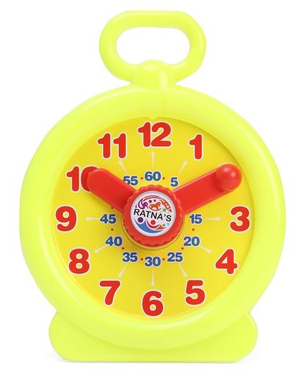 Ratnas Tik Tik Clock - Yellow