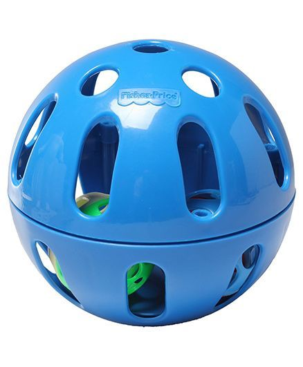 Fisher Price Woobly Fun Ball - Blue