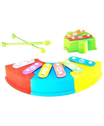 Smartcraft Rainbow Music Block Xylophone Set - Multicolour