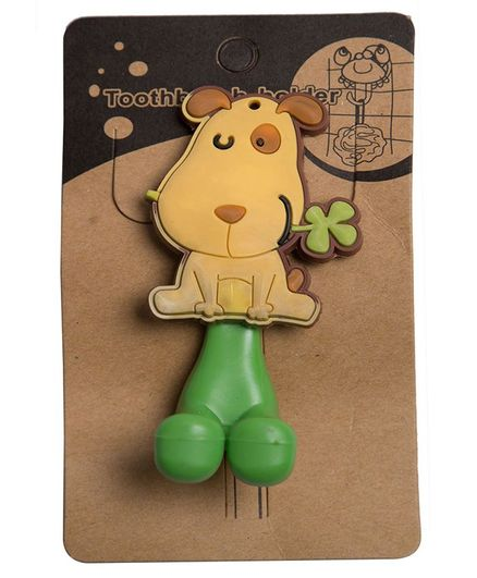 Little Nests Snoopy Dog Toothbrush Holder - Green