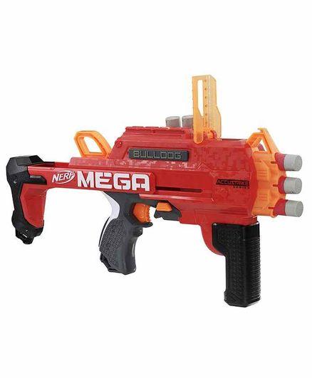 Nerf AccuStrike Mega Bulldog Toy Gun - Red