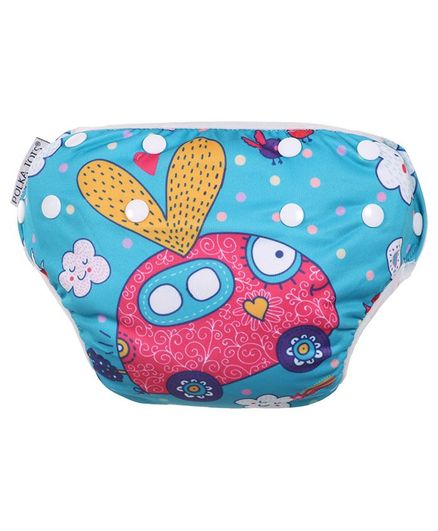 Polka Tots Reusable Swim Diaper Car Design