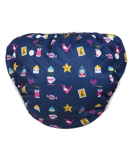 Polka Tots Reusable Swim Diaper Mix Design