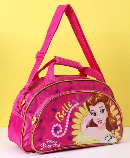 Disney Princess Belle Duffel Bag Pink - Length 39 cm