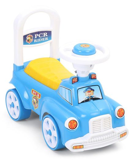 Kids Zone Manual Push PCR Ride On - Color May Vary