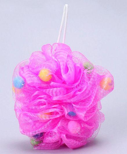 Baby Bath loofah - Pink