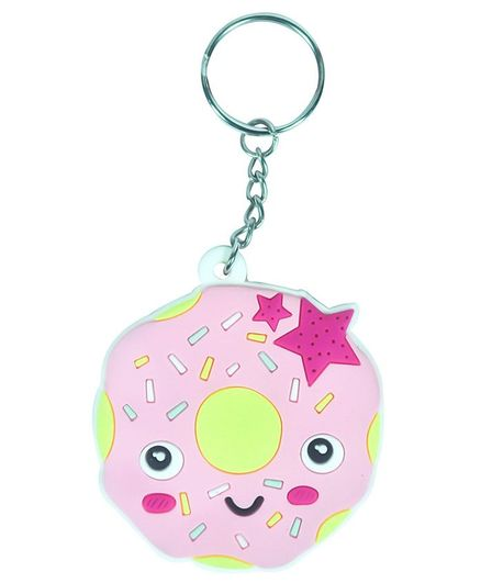 Scoobies Do Not Miss Keychain - Pink