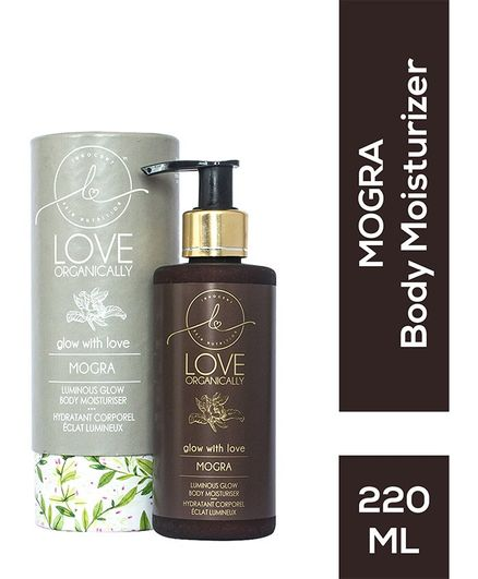 Love Organically Mogra Body Moisturiser - 220 ml