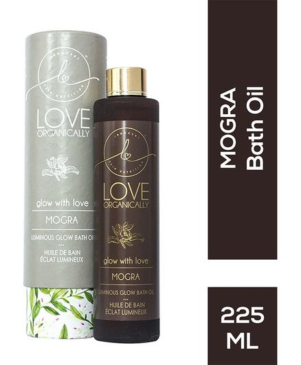 Love Organically Mogra Luminous Glow Bath Oil - 225 ml