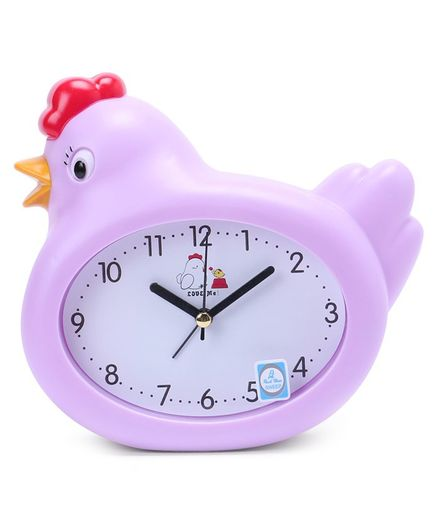 Hen Shaped Alarm Clock - Purple