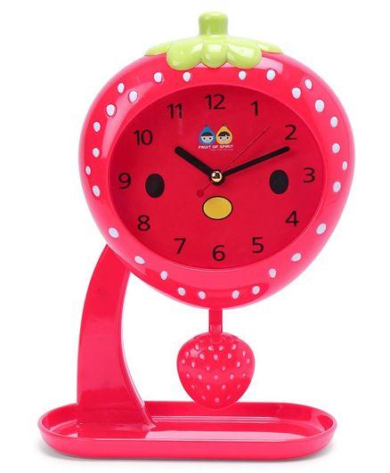Fruit Swing Alarm Clock - Red