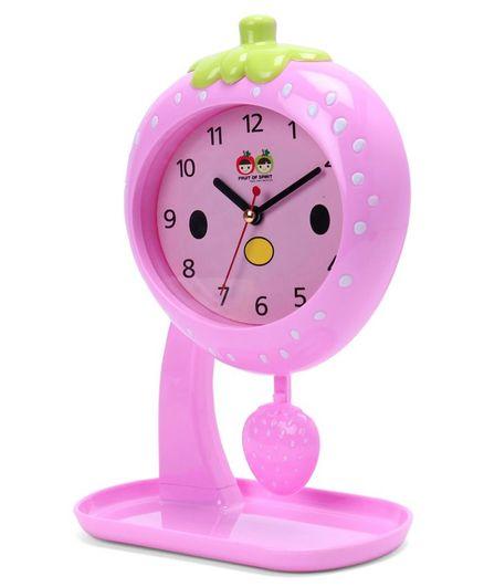 Fruit Swing Alarm Clock - Pink