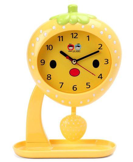Fruit Swing Alarm Clock - Yellow