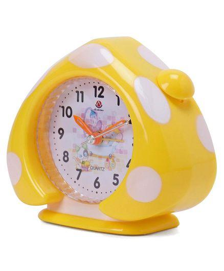 Home Shaped Alarm Clock - Yellow