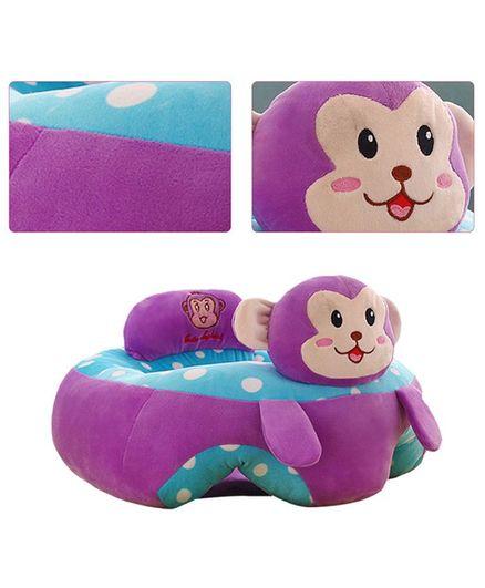 Skylofts Monkey Shaped Sofa Seat - Purple