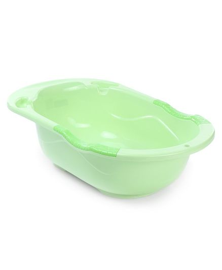 Babyhug Bath Tub Happy Baby Print - Green