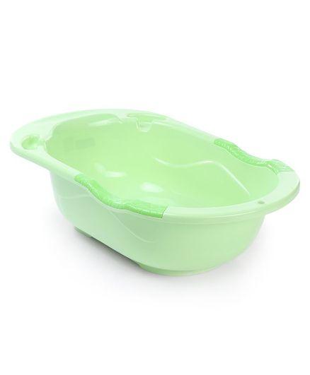 Babyhug Bath Tub Sweet Love Print - Green