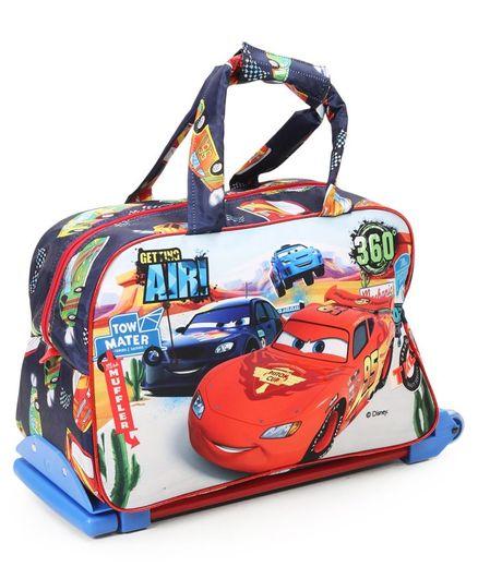 Disney Pixar Cars Multipurpose Trolley Bag Multicolour - 12 inches